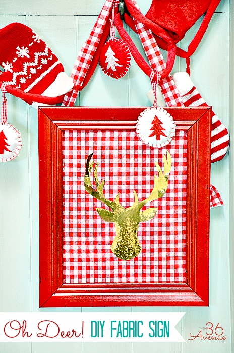 Deer-DIY-Fabric-Sign
